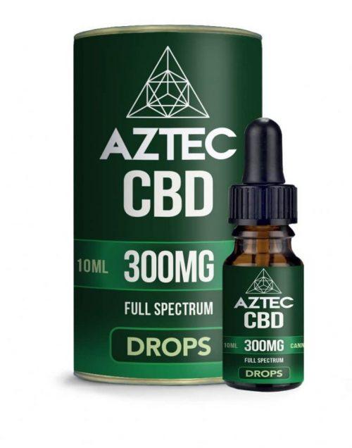 aztec cbd oil drops